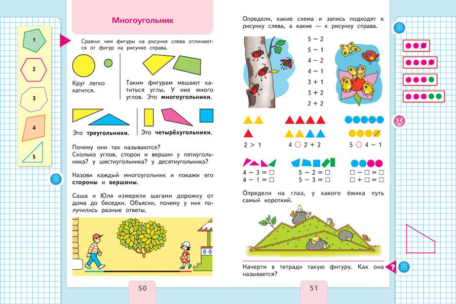 Программа школа россии по математике
