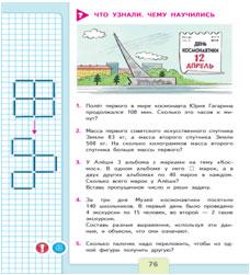 Схема школа россии