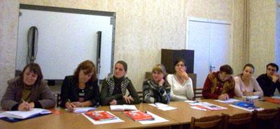 Участники семинара для учителей английского языка по УМК  «Английский в фокусе» и «Звездный английский» в г. Санкт-Петербурге