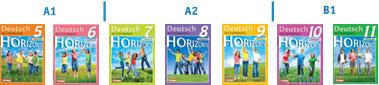 Список учебников УМК Горизонты (Horizonte)