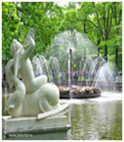"fountain ""The Sun"""