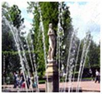 """fountains """"Eva"""" and """"Adam"""""""