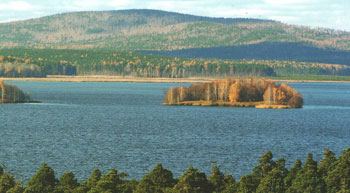Озеро Исетское Остров Любви и остров Разлуки
