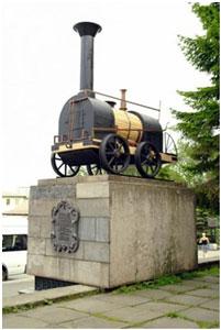 The Cherepanovs' steam engine