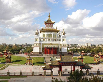The largest Buddhist temple in the whole Europe
