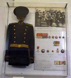 Uniform of  Golovko