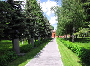 The Alley of memory in Kolomna