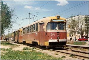 Trams in Kolomna