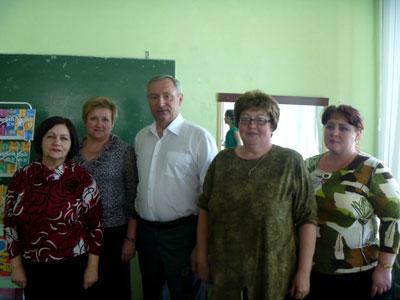 В.П. Кузовлев со слушателями семинара (г. Белгород)