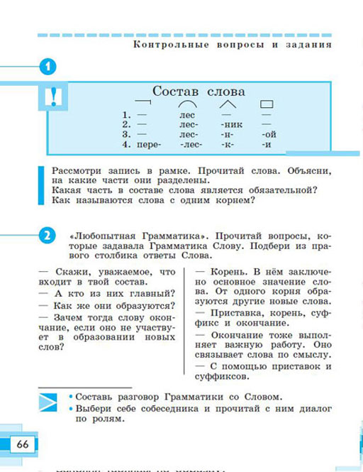 Viii вида русский язык 7 класс