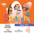 Spotlight 4 Class CD