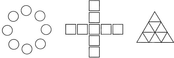 Соотнесение геометрических фигур с предметом